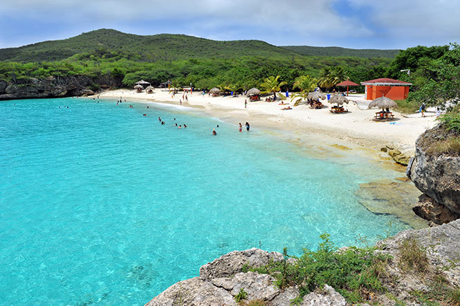 Strand Grote Knip Westpunt Curacao