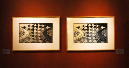 Metamorphosen und unmögliche Perspektiven – M.C. Escher