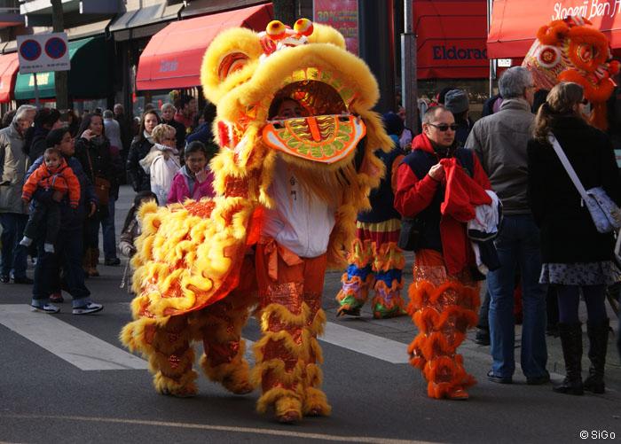Chinatown feiert