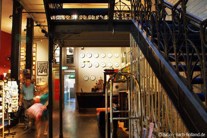 Hotel New York Rotterdam, Treppenhaus