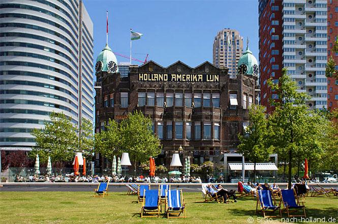 Hotel New York Rotterdam, Außenansicht