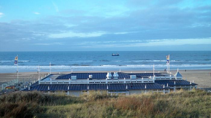 Nordseestrand von Zandvoort aan Zee ┬® weltvermessen.de