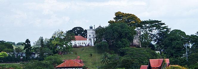 Blick auf St. Paul auf dem Hügel von Malakka