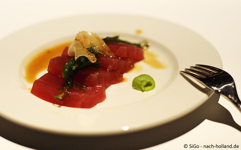 Thunfisch mit mariniertem Ingwer