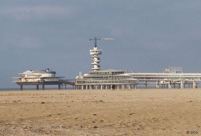 Das Pier von Scheveningen