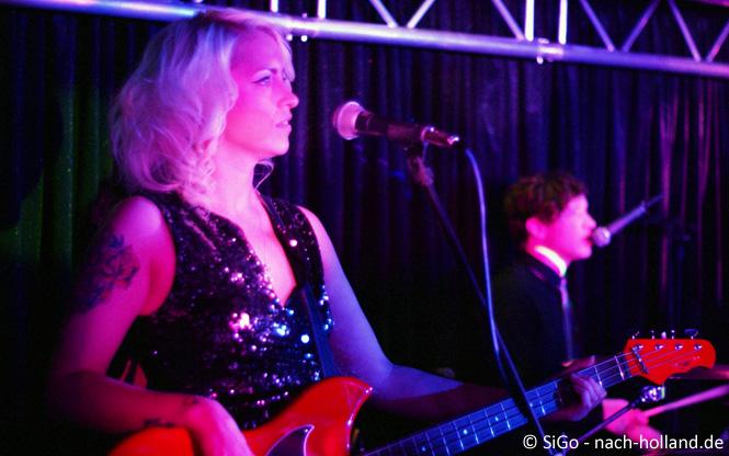 Band aus England während der Silvesterparty Minicruise DFDS Seaways