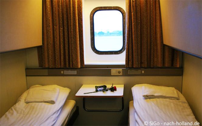 Kabine Minicruise DFDS Seaways