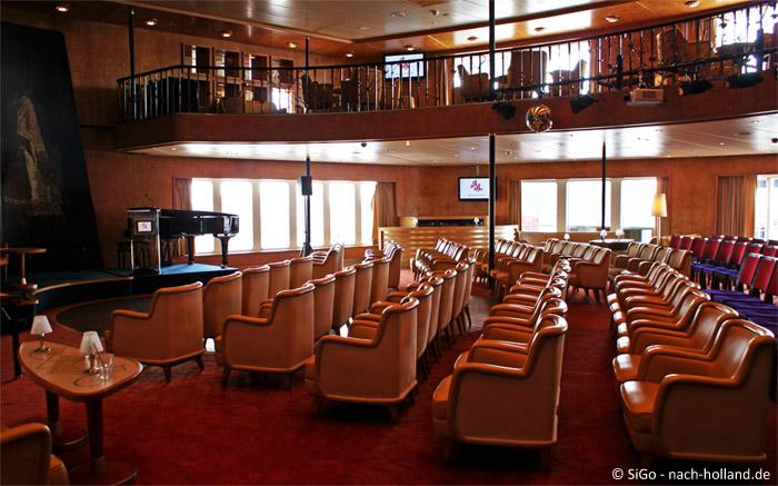 Der Grand Ballroom auf der SS Rotterdam
