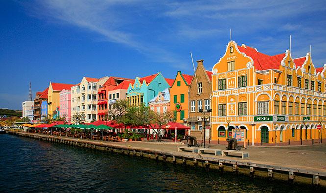 Hafenfassade Willemstad