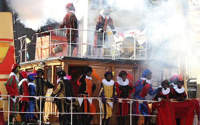Intocht van Sinterklaas in Schiedam 2009