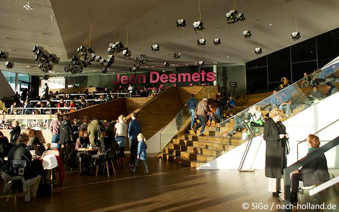 Das Restaurant im Eye Amsterdam