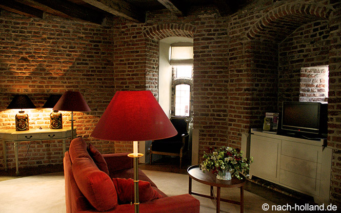 Wohnraum Suite Schloss Huis Bergh