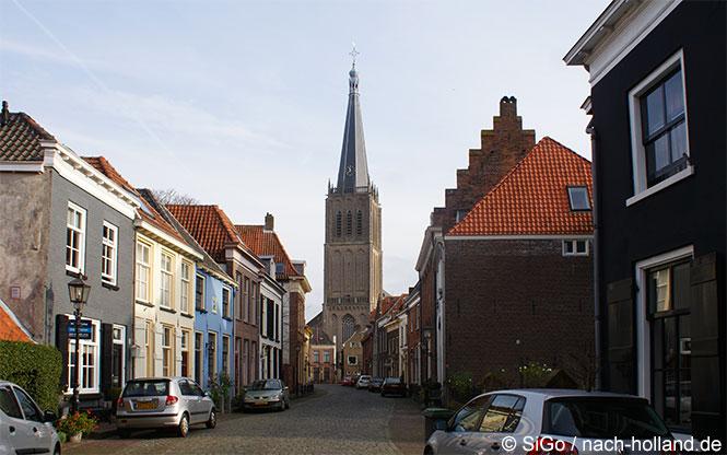 Kirche in der Hansestadt Doesburg
