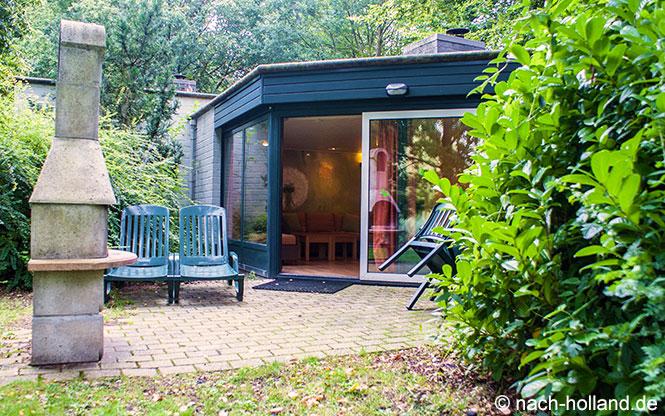 Terrasse Bungalow Center Parcs De Eemhof