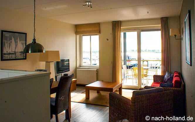 Wohnraum Suite am See - Center Parcs De Eemhof