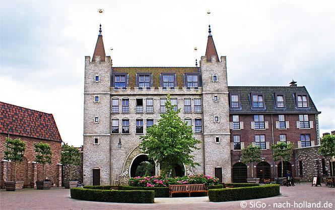 Appartementgebäude im Ferienpark Efteling Bosrijk