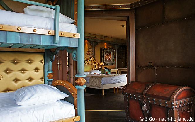 Golden Suite im Efteling Hotel