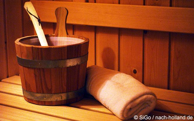 Die eigenen Sauna im Ferienhaus