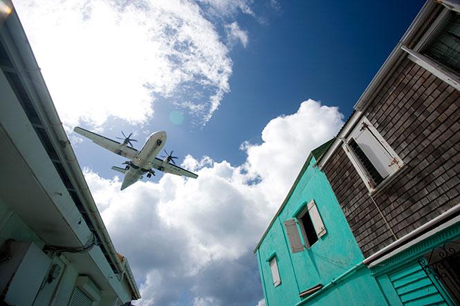 Flieger St Maarten