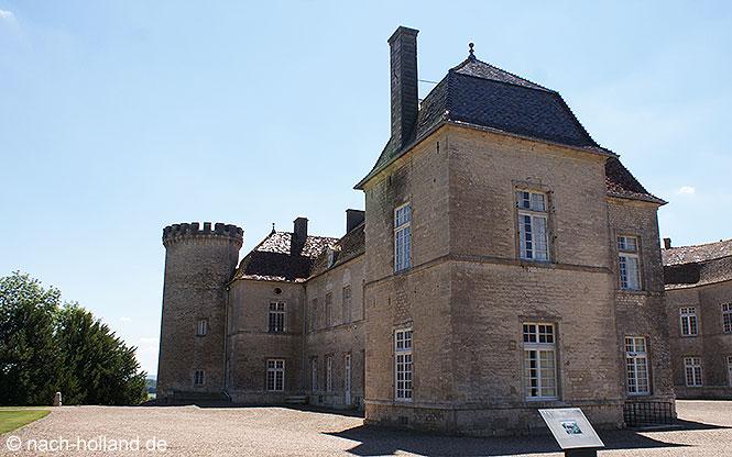 Ansicht Schloss von Ray-sur-Saône