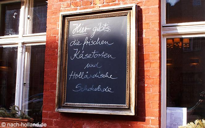 Käsekuchencafé im Holländischen viertel Potsdam
