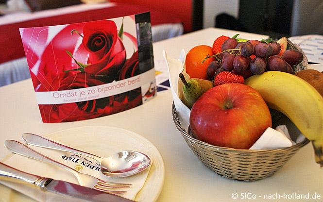 Willkommensgruß Hotel Central Den Bosch