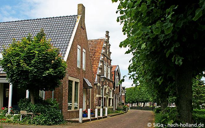 Häuserreihe in IJlst