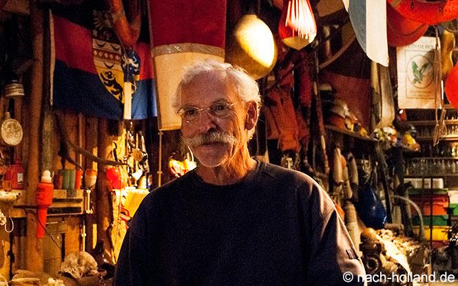 Gilles de Mil, Strandräuber von Texel