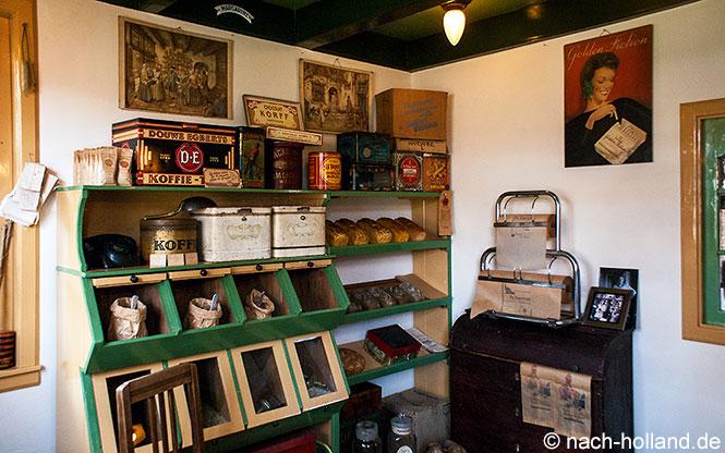 Laden mit Bäckerei Museum Kaap Skil Texel