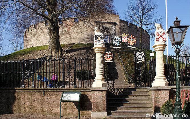 Die Burcht in Leiden
