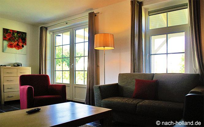 Wohnraum Ferienhaus De Leistert