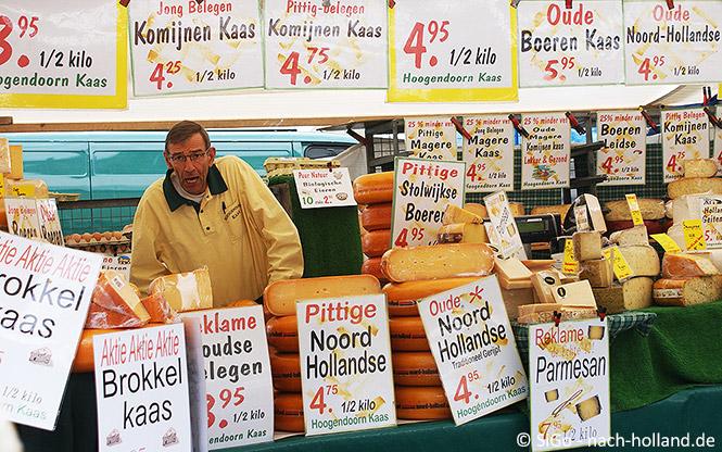 Käse auf einem Markt in Holland