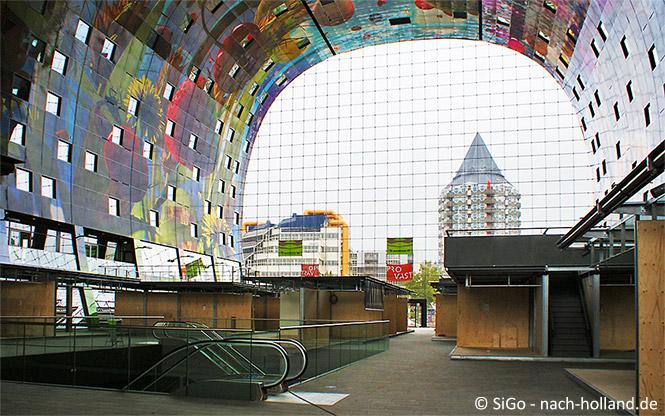 Die Markthalle In Rotterdam Ein Horn Des Uberflusses