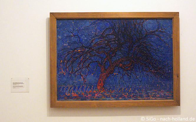 Der rote Baum von Piet Mondrian