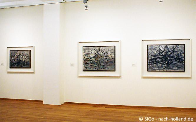 Bäume von Piet Mondrian