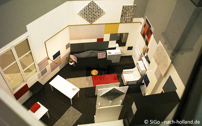 Modell des Ateliers Mondrians