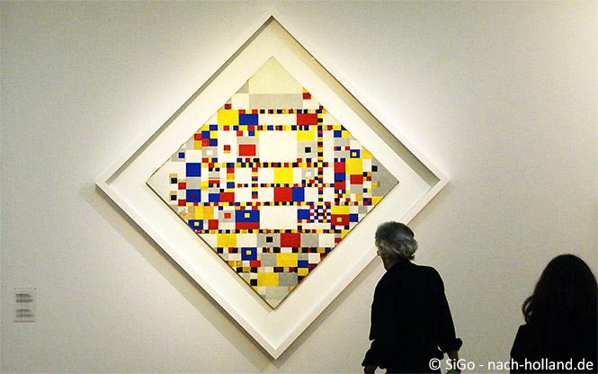 Victory Boogie Woogie von Piet Mondrian