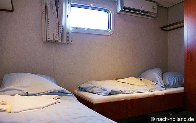Kabine Rad- und Schiffsreise
