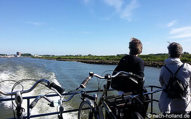 Bootsfahrt zurück nach Rotterdam