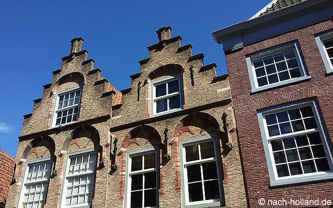 Fassaden in Dordrecht
