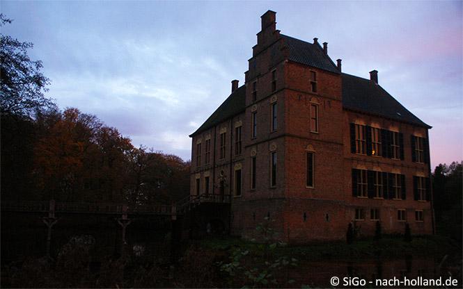 Schloss Vorden im Abendlicht