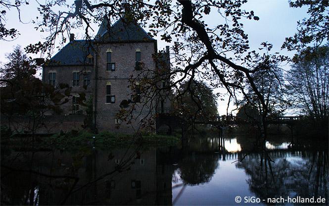 Schloss Vorden am Abend