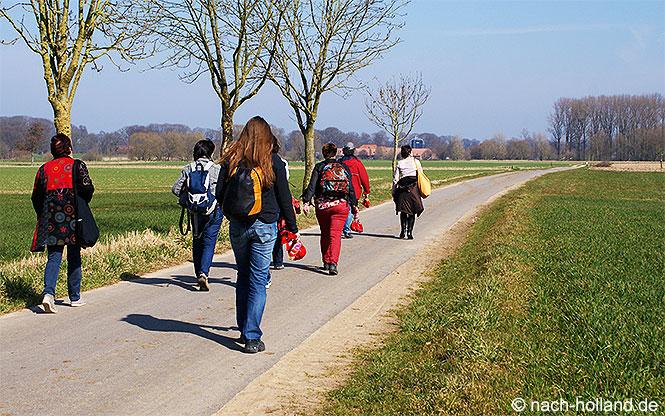 Wandern in der Gemeinde Roerdalen