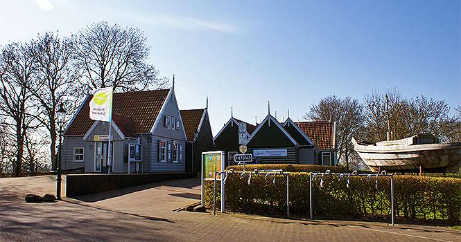 Die Weltkulturerbestätte Schokland im niederländischen Flevoland