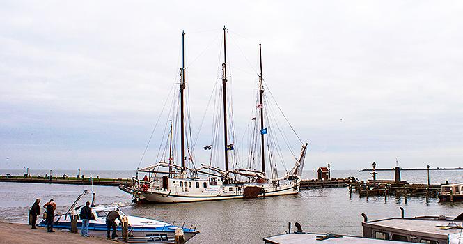 Segelschiff Dreimaster Elizabeth