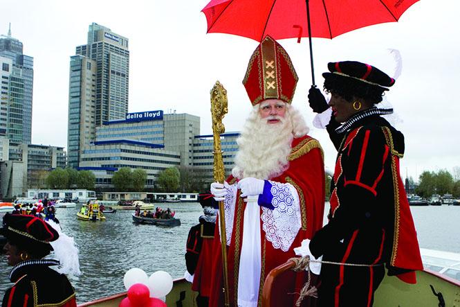 Sinterklaas, der holländische Nikolaus