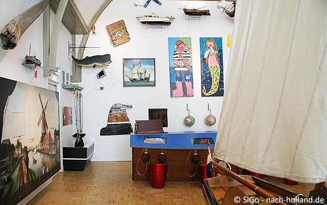 Kindermuseum im Scheepvaartsmuseum in Sneek