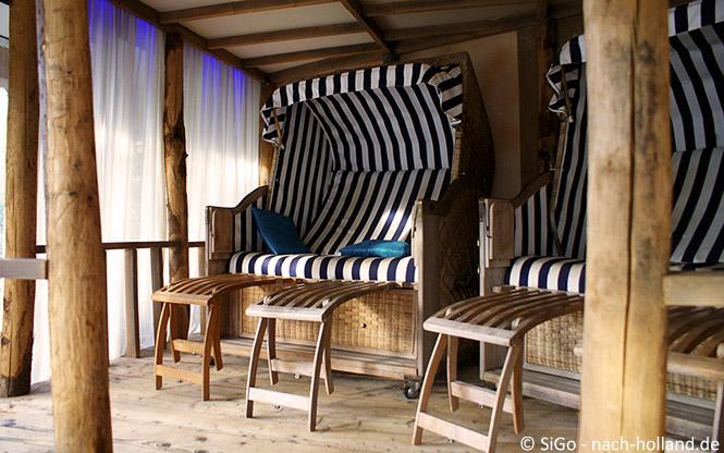 Ruhezone im Wellnesszentrum Palestra im Ferienpark Landal Stroombroek