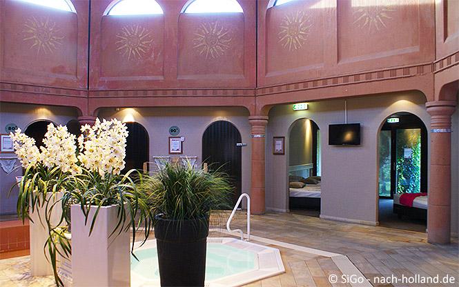 Wellnesszentrum Palestra im Ferienpark Landal Stroombroek