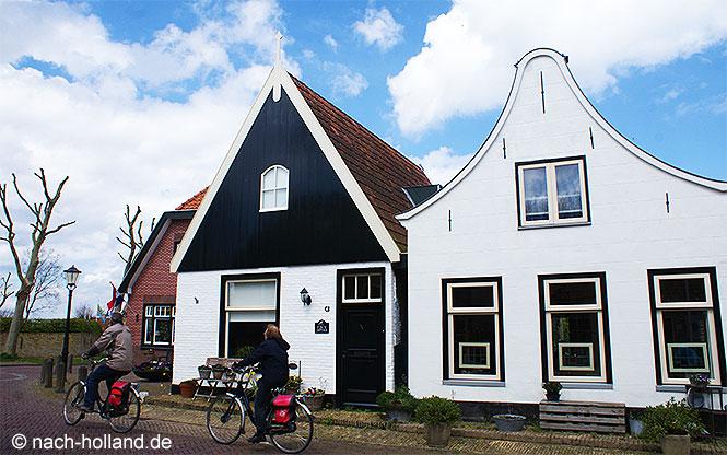 Radfahrer auf Texel